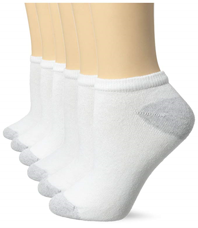 Jerzees Ladies Low Cut Socks Size 9-11