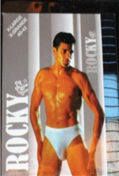 Men's Rocky Ass. Stripes Briefs, Assorted sizes - 3 Pack