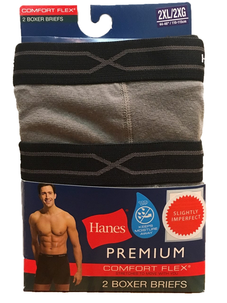 Hanes Men's Boxer Briefs - 2 pack