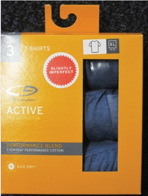Boy's Hanes Colors T-Shirts - 3 Pack