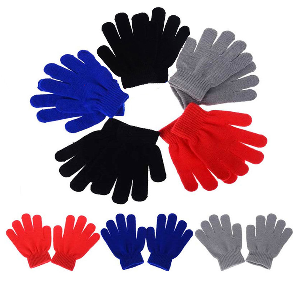 Children Assorted Colors Magic Gloves (One Size) - Single Pack